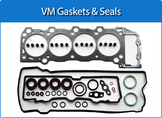 VM gaskets and seals